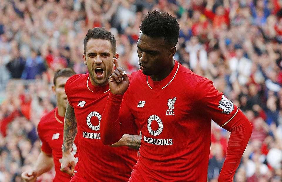 Sturridge's last goals for Liverpool came in a 3-2 win over Aston Villa (photo: givemesport)