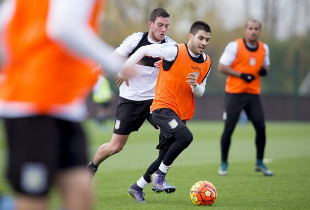 Carles Gil pictured in training (photo: getty)