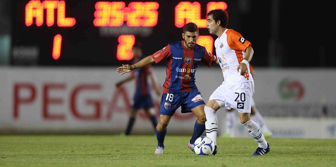 (Foto: Atlante FC | Duelo entre Atlante y Alebrijes)