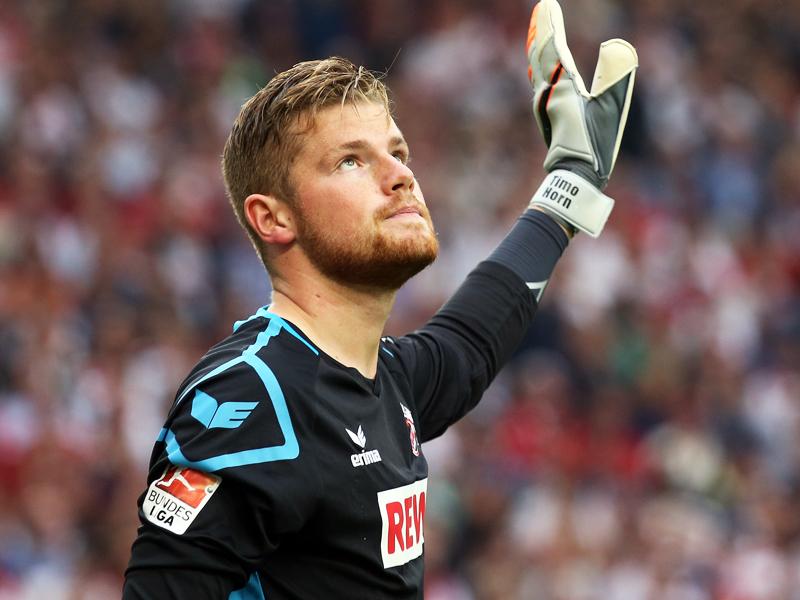 Timo Horn wants to get things back to normal, especially in a footballing sense. (Image credit: kicker)