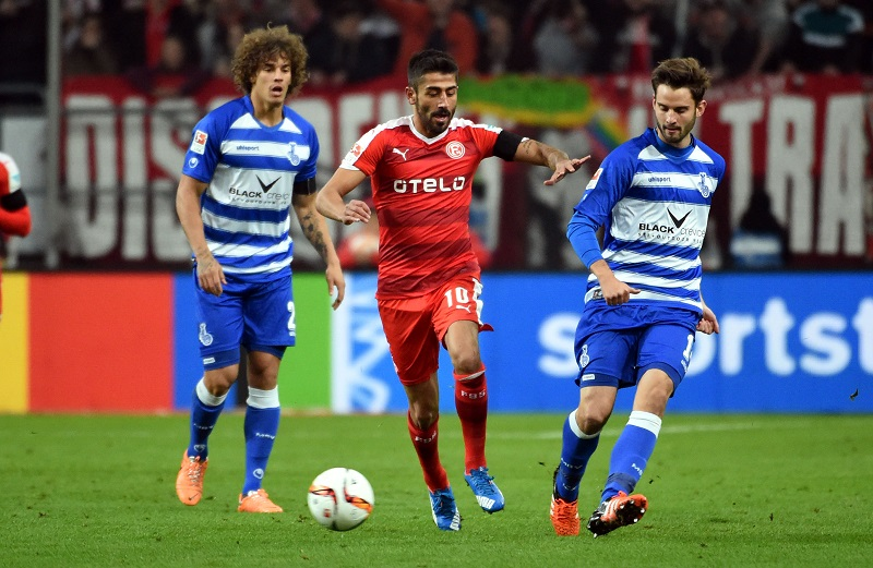 Demirbay's goal wasn't enough for Fortuna in the end. (Image credit: f95.de)
