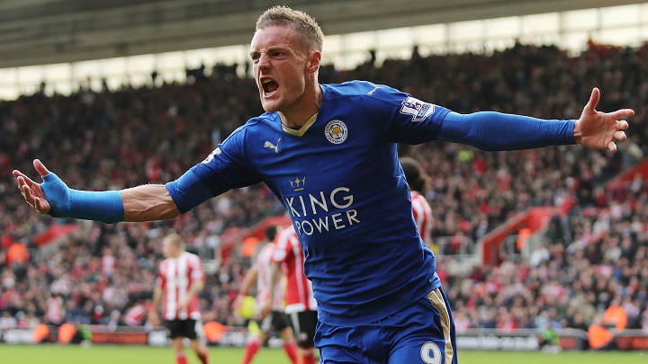 Vardy has been in sparkling form this season (photo: getty)