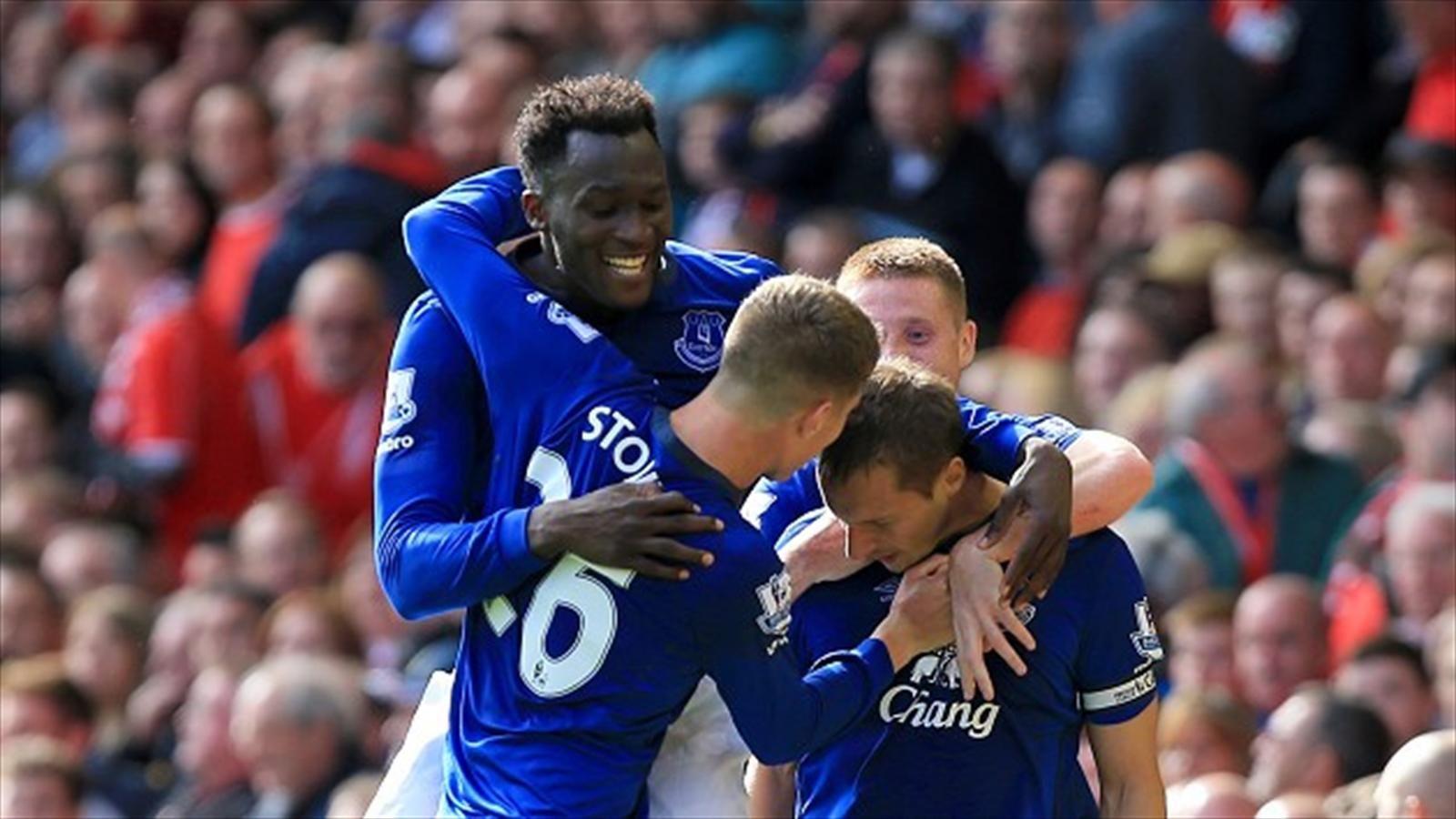 El Everton, un rival duro.