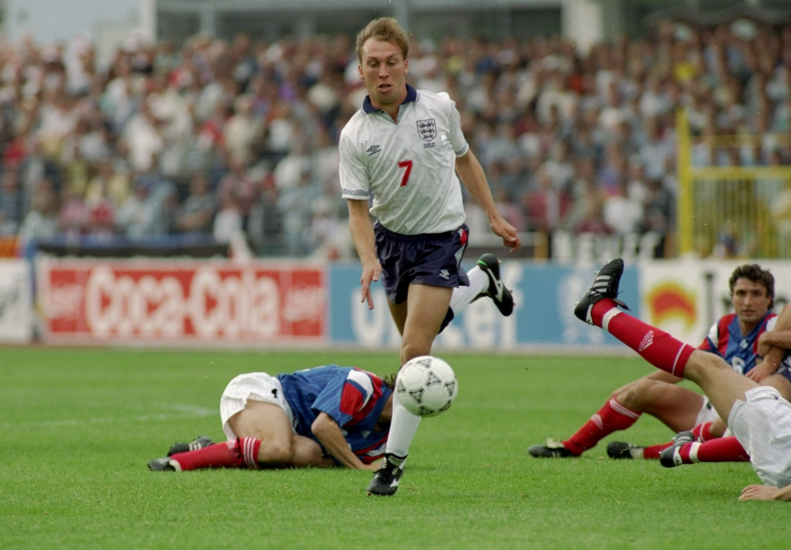 David Platt during his England playing days