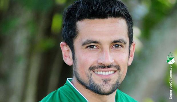 Andrés Pérez, uno de los mejores jugadores que ha tenido el Deportivo Cali en el presente siglo.
