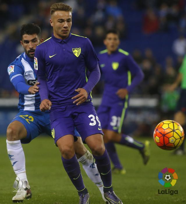Ontiveros debutó con el Málaga