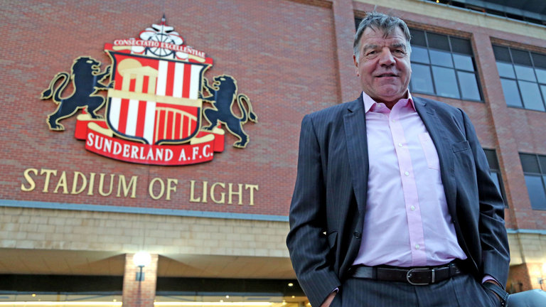 Sam Allardyce el día de su presentación con el Sunderland