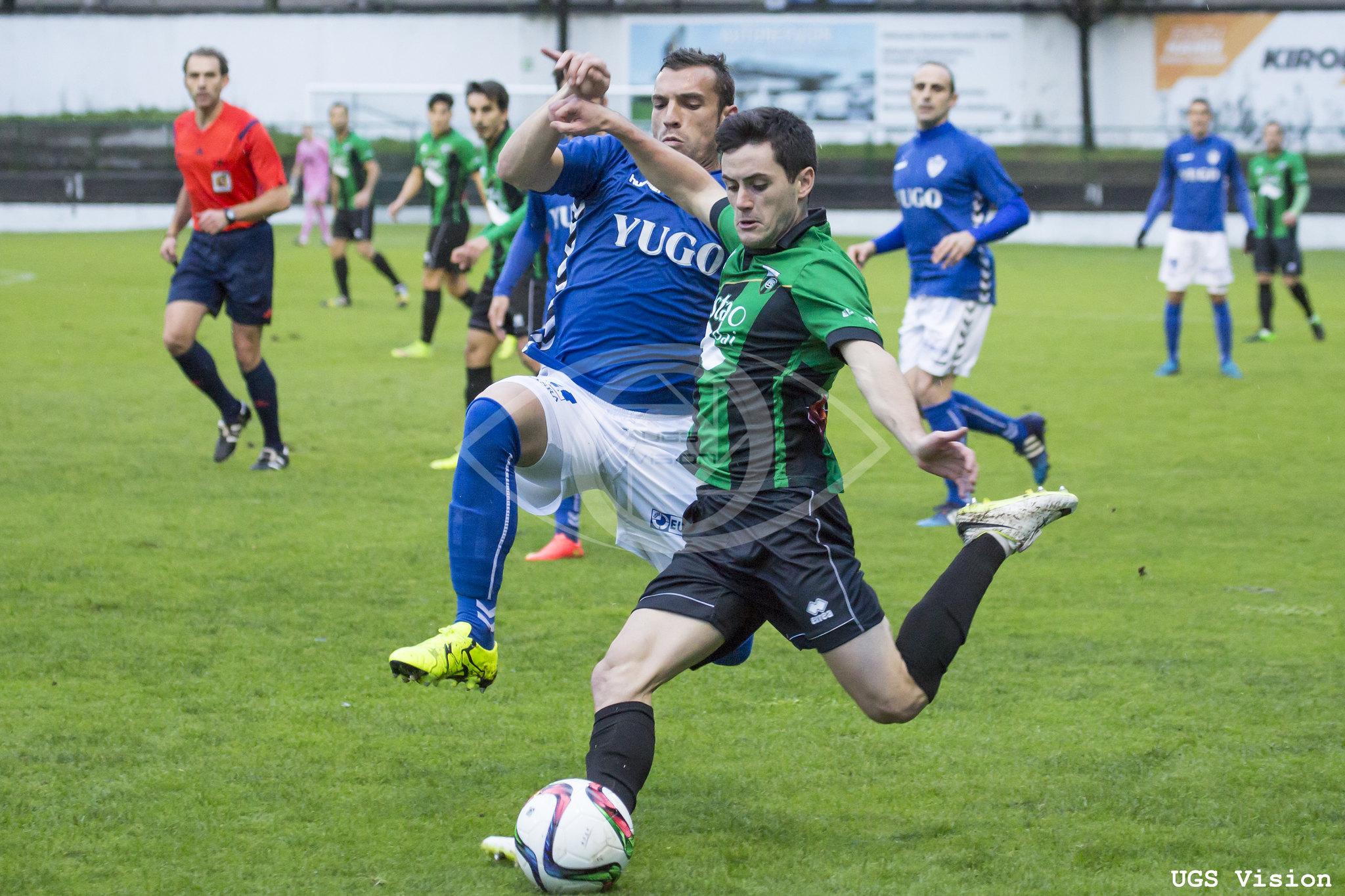 Igor Arnáez cuajó un partido muy completo