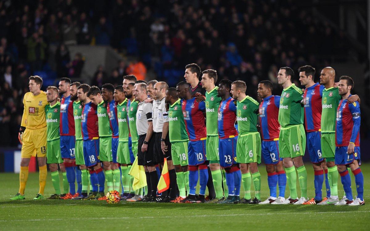 Crystal Palace - Sunderland French National Anthem