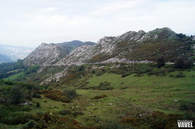 Los Lagos de Covadonga en la Vuelta a España