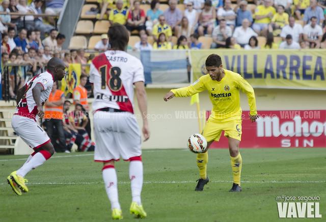 Jonathan dos Santos en el partido ante el Rayo Vallecano