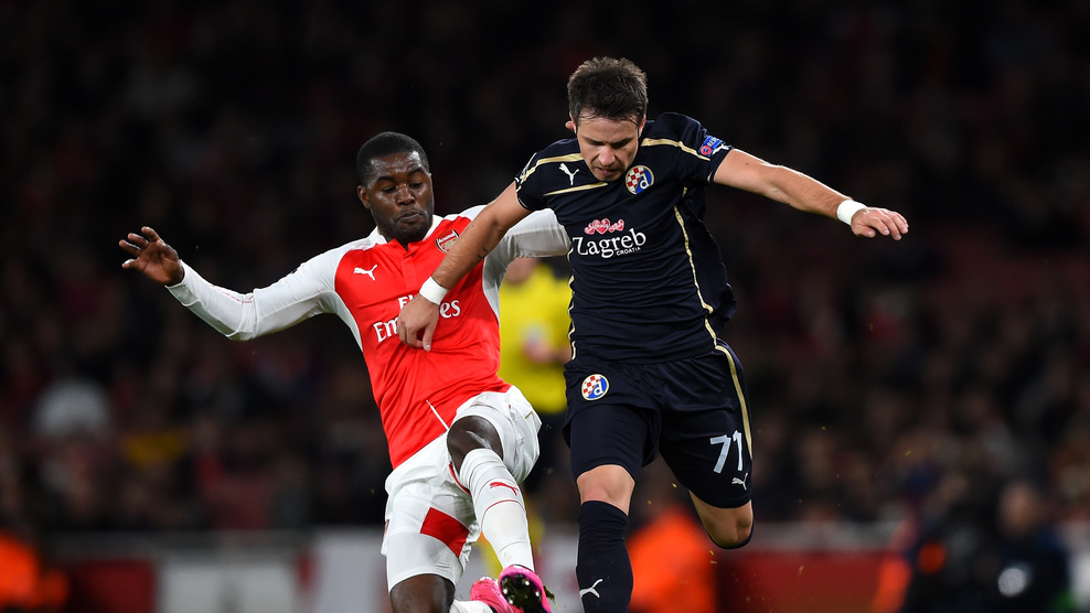 Joel Campbell played superbly during Arsenal's victory. (UEFA)