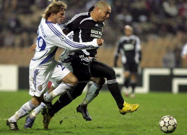 Ronaldo, ante el Dinamo de Kiev
