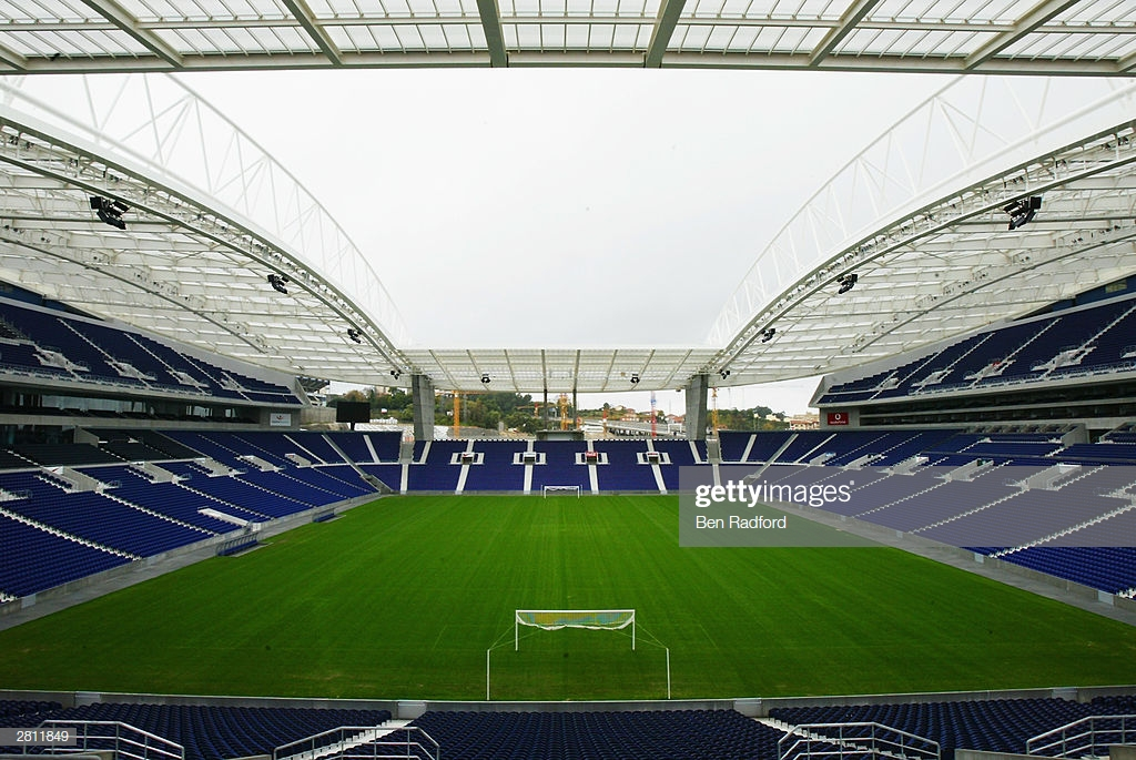 A general view of the Dragao Stadium, Porto, Portugal. One of the venues for the European Championships in 2004.