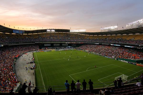 RFK Memorial Stadium en un aprtido de soccer (Imagen: reddit.com)