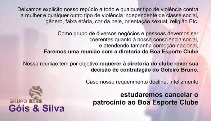 (Foto: Divulgação/Grupo Góis & Silva)