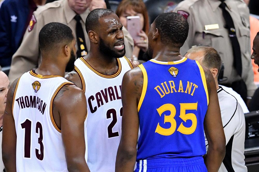 Durant y LeBron también tuvieron sus más y sus menos en la Final de la NBA. Vía: NBA.com