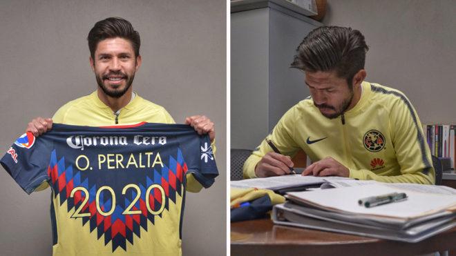 (Oribe Peralta | Foto: Club América F.C.)