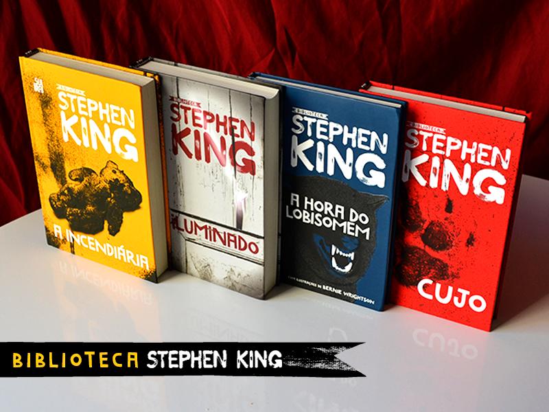 A Incendiária é o quarto volume da biblioteca Stephen King. (Foto: Divulgação)