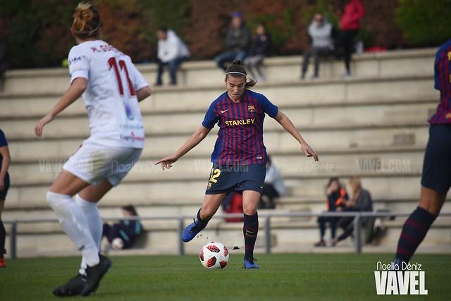 Patricia Guijarro ante el Sevilla Fútbol Club | Foto de Noelia Déniz, VAVEL
