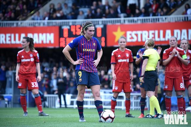 Mariona Caldentey ante el Bayern de Múnich en las semifinales de la UEFA Women's Champions League | Foto de Noelia Déniz, VAVEL