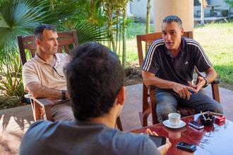 """Enrique Llena, DT de Nicaragua: """"Vamos bien, pero estamos en pañales"""""""