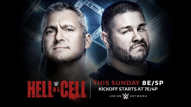 Cartelera WWE Hell In A Cell 2017