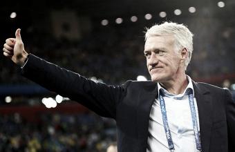 Deschamps enfatiza possível título da Copa como resposta ao vice da Euro