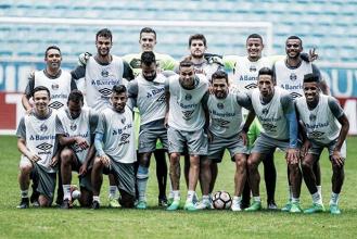 Grêmio realiza último treino antes de decidir vaga na Libertadores diante do Zamora