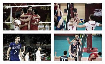 Championnats du Monde de volley-ball 2014 (Groupe E) : la France, la Pologne, l'Iran et les USA l'emportent