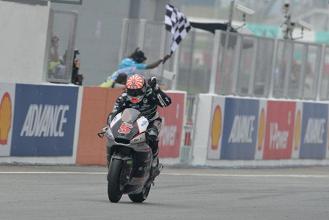 Moto 2 : Champion jusqu'au bout