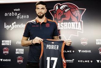 """Vincent Poirier: """"Baskonia es la mejor opción para mejorar como jugador"""""""