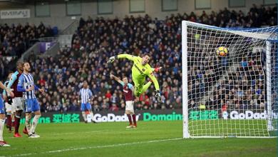 Il gol di Izquierdo siglato in Brighton-West Ham da un'angolazione fantastica. | Brighton & Hove Albion, Twitter.