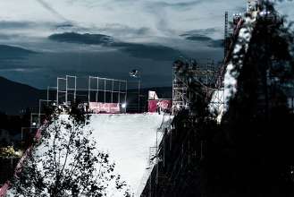 Freeskiing: Henrik Harlaut wins first ever Sosh Big Air