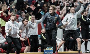 Klopp está contento con el partido y la temporada de su equipo