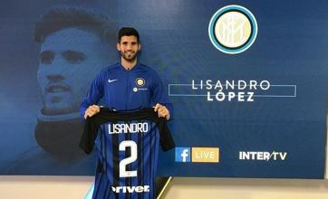 """Inter, il giorno di Lisandro Lopez: """"Obiettivo Champions, posso giocare centrale sia a 3 che a 4"""""""