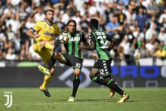 Juventus - Sassuolo in diretta, LIVE Serie A 2017/18 (7-0): Triplo Higuain, Signora spaziale