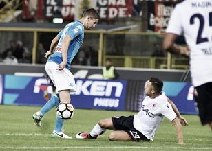 """Bologna sconfitto dal Napoli, Donadoni: """"Fino al gol abbiamo fatto una buona gara"""""""