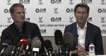 Crystal Palace, De Boer è ufficialmente il nuovo allenatore