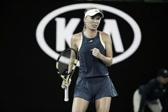 Wozniacki accede a la cuarta ronda