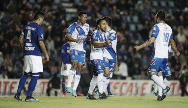 Puebla vence a Cruz Azul en la Copa