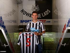 Newcastle United complete Fabian Schär signing from Deportivo La Coruña