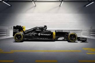 Renault présente sa nouvelle F1