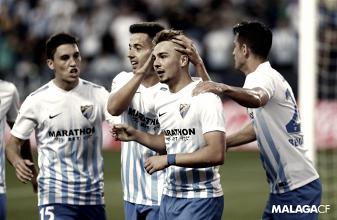 El Málaga lucha por lo más alto