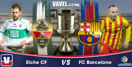 Live Liga BBVA : le match Elche - FC Barcelone en direct