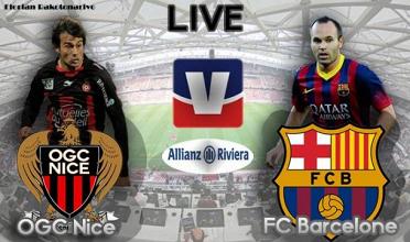 Live OGC Nice - FC Barcelone, le match en direct