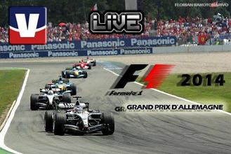 Live F1 : Le GP d'Allemagne en direct
