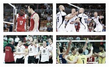 Championnat du monde de volley-ball (groupe F): Le Brésil, la Russie et l'Allemagne qualifiés