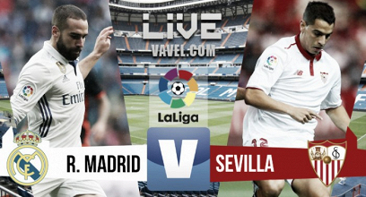 Resumen y goles del Real Madrid 4 Sevilla 1