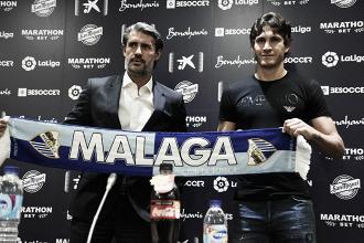 """Gustavo Blanco: """"Desde chico me gustó mucho Málaga, es un gran club"""""""